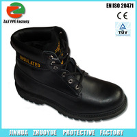 Working Protective firefighter safety shoes