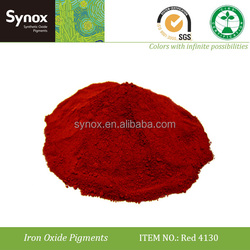 Pigment red 4130 for mastic asphalt