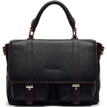 S977-A3912 Hot sale European men leather briefcase with 100% genuine leather