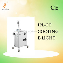 IPL wrinkle removal/hair removal salon & cilinic beauty machine