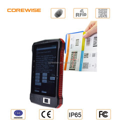 Android 5.1.1 4G LTE tablet pc,HF RFID,UHF reader,gps,wifi,bluetooth,cameras,fingerprint,cheapest 2d barcode scanner