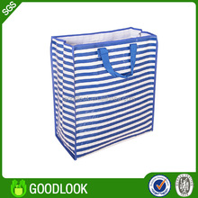 100% factory popular silver laminated non-woven tote bag GL140