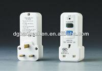 A30PW RCD plug adaptor,BS Standard