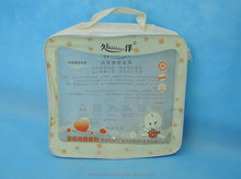 children cloth handlength handle clear pvc steel wire bag