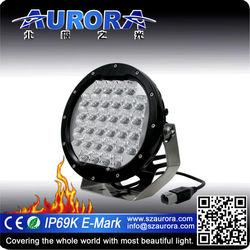 factory price head light 7'' round light motorcycle lights