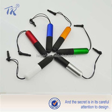 Customized printed mobile phone ornaments pen plastic ball pen