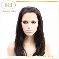 2015 Full cuticle 100% peruvian virgin remy human hair full lace wig,natural hairline