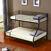 Bedroom furniture black metal triple bed for kids BD-7025