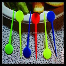 2015 popular OEM disposable plastic forks set