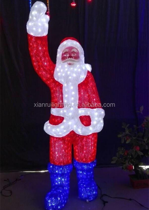 휴일 조명 장식 야외 3D 산타 클로스 크리스마스 조명을 주도 ...