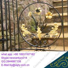 Forjado puerta de hierro
