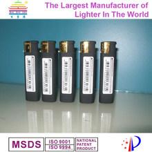 Plastic electronic refillable slide gas cigar lighter