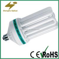 CFL U shape lamp,energy saving glass tube light 110V 220V available