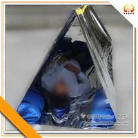 Water proof thermal rescue tent in emergency kits