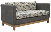 cross teak wood sofa designs for drawing room HDS1350