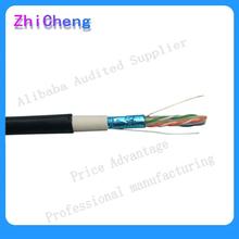 Factory price CCA\CCS\CU OUTDOOR UTP FTP Cat5e Cat6 Lan cable