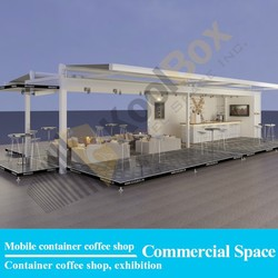 2015 the latest Mobile shop Container coffee bar design, shipping container coffee shop