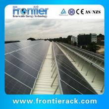 Flat roof solar mounting universal rack mount