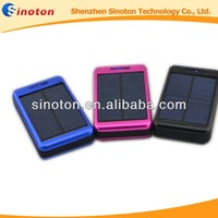 solar charger leather ipad case 10000mah