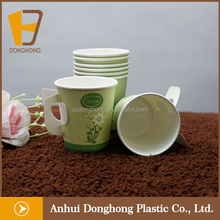Hot Sale Disposable high quality new style Paper Cup With Handle