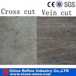 coffee travertine tile & pavers(cross cut)