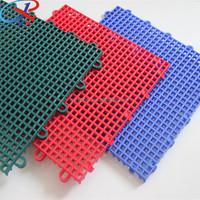 Basketball Sport PP Flooring Interlocking Tiles