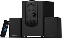 2.1 channel Multimedia speaker/ 2.1 speaker home theater system with Flashing Colorful LED Light