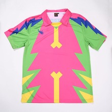 high quality dry fit Polo shirt,custom design,Colorful Sublimated Soccer Jersey