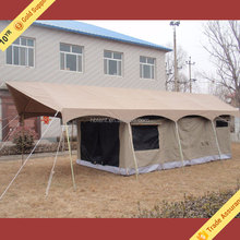 Newest Luxury Canvas Framed Outdoor Camping Safari Tent
