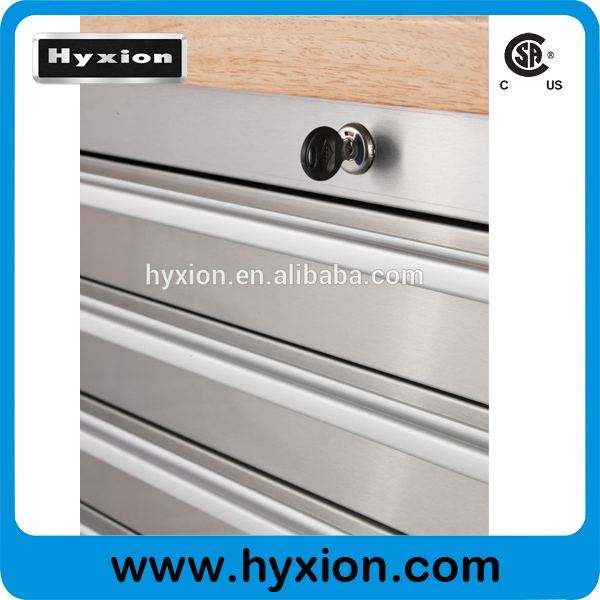 Rolling Stainless Steel 72 Inch 15 Drawers Tool Chest