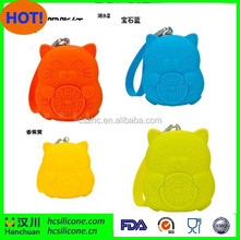 2015 hot selling custom coin purse bulk, wholesale silicone coin purse