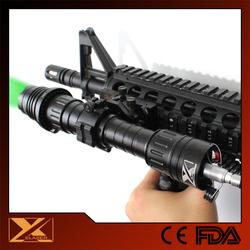 50mw long gun aiming green laser night illuminator