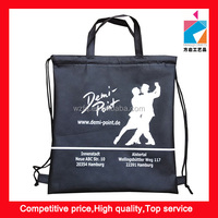 Promotion Cord Non Woven Bag With Handle