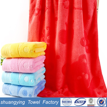 China factory custom 70*140cm children hooded bath towel