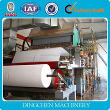 best price toilet paper making machine for sale raw material bamboo, sugarcane, waste paper