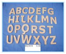 Letras de madera de decoración del hogar