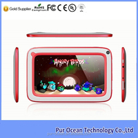 China factory hot sale android 4.2 dual core children tablet pc 7 inch