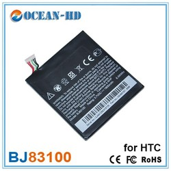 BJ83100 for HTC phone replacement ultra thin battery 3.7v 1800mah