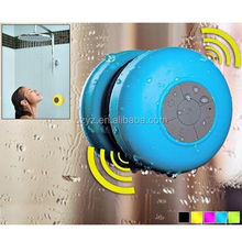 Hot sale Waterproof wireless bluetooth speaker with suction cup, Shower speaker