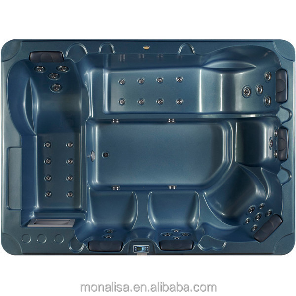 Monalisa Acrylic outdoor massage spa hot tub M-3365 for 6 people