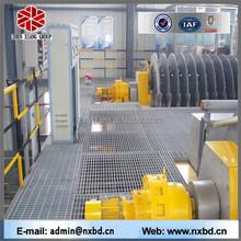 q235 ss400 a36 mild galvanized alloy flat bar steel grating