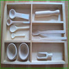 Wood Kitchen Cutlery Tray, Wooden Craft Compartment Tray