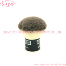 dual color hair mini kabuki brushes private label for beauty use