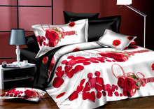 New brand name queen size customized colorful printed bed sheet cover