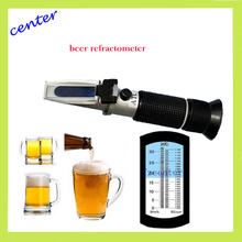 Gros bière réfractomètre 0 - 32% et 1.000 - 1.120 SG wort