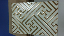 decorative mdf feature wall, interior decoration3d wall panel, bathroom wall panel