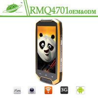 Factory Wholesale 4.5 Inch ip67 waterproof Rugged phone Walkie talkie quad core Waterproof Mobile Android Phone