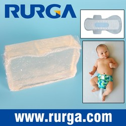 Construction hot melt adhesive for baby diaper, sanitary napkin