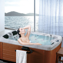 Factory JY8013 free sex usa massage whirlpool indoor 2 person mini bath tub