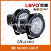 Hight Quality and Cheap Price 55W 4'' HID Black Ring Spot Beam Fog Light